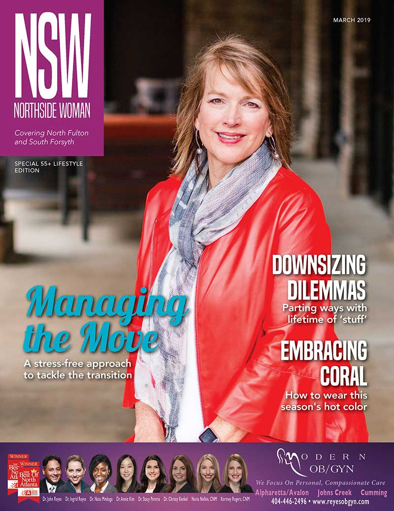 Northside Woman Magazine Cover Peace of Mind Transitions